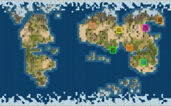 Civ5 Earth Map Resources Reference