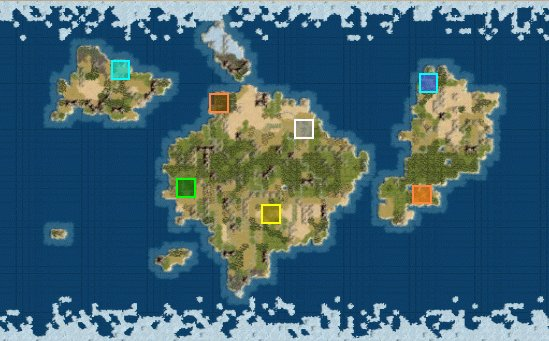 Civilization IV Map Scripts Guide CivFanatics - 5 continents of the world map