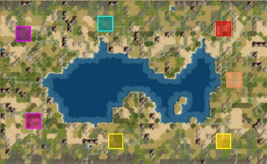 Civ  Map Island Sea