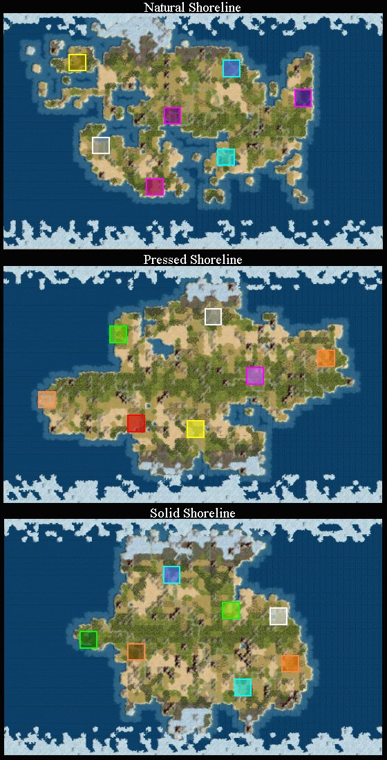Civilization IV Map Scripts Guide CivFanatics - Pangaea map
